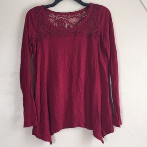 Hollister Long Sleeve Blouse